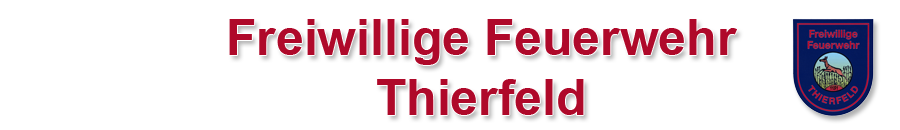 Freiwillige Feuerwehr Thierfeld e.V.
