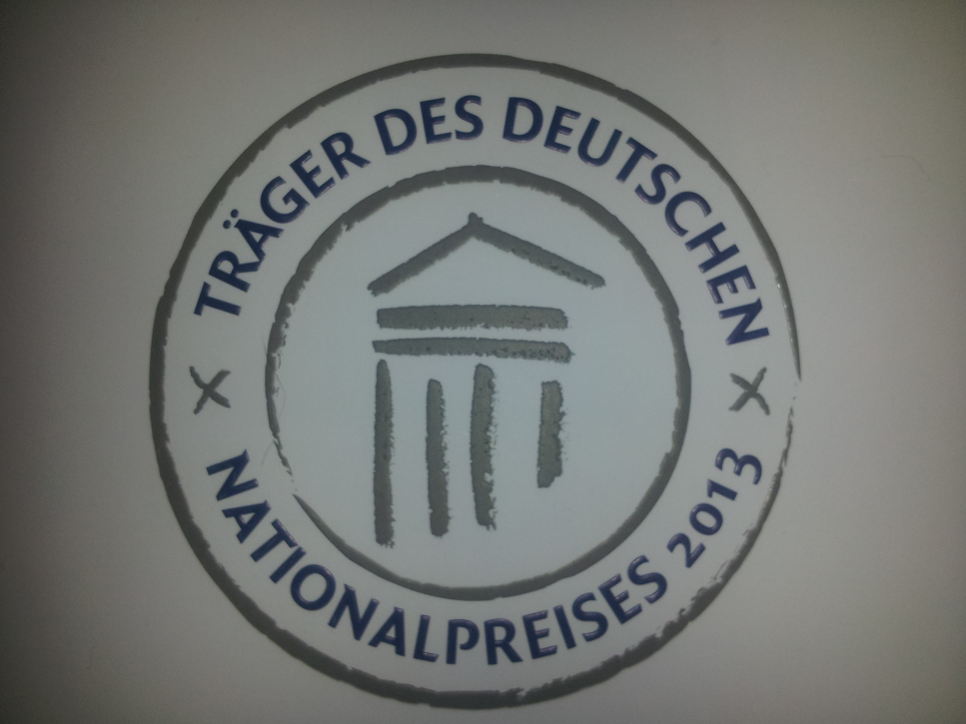 Träger des deutschen Nationalpreises 2013