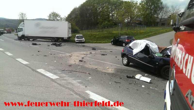 Einsatz 9: Verkehrsunfall Autobahnzubringer S255