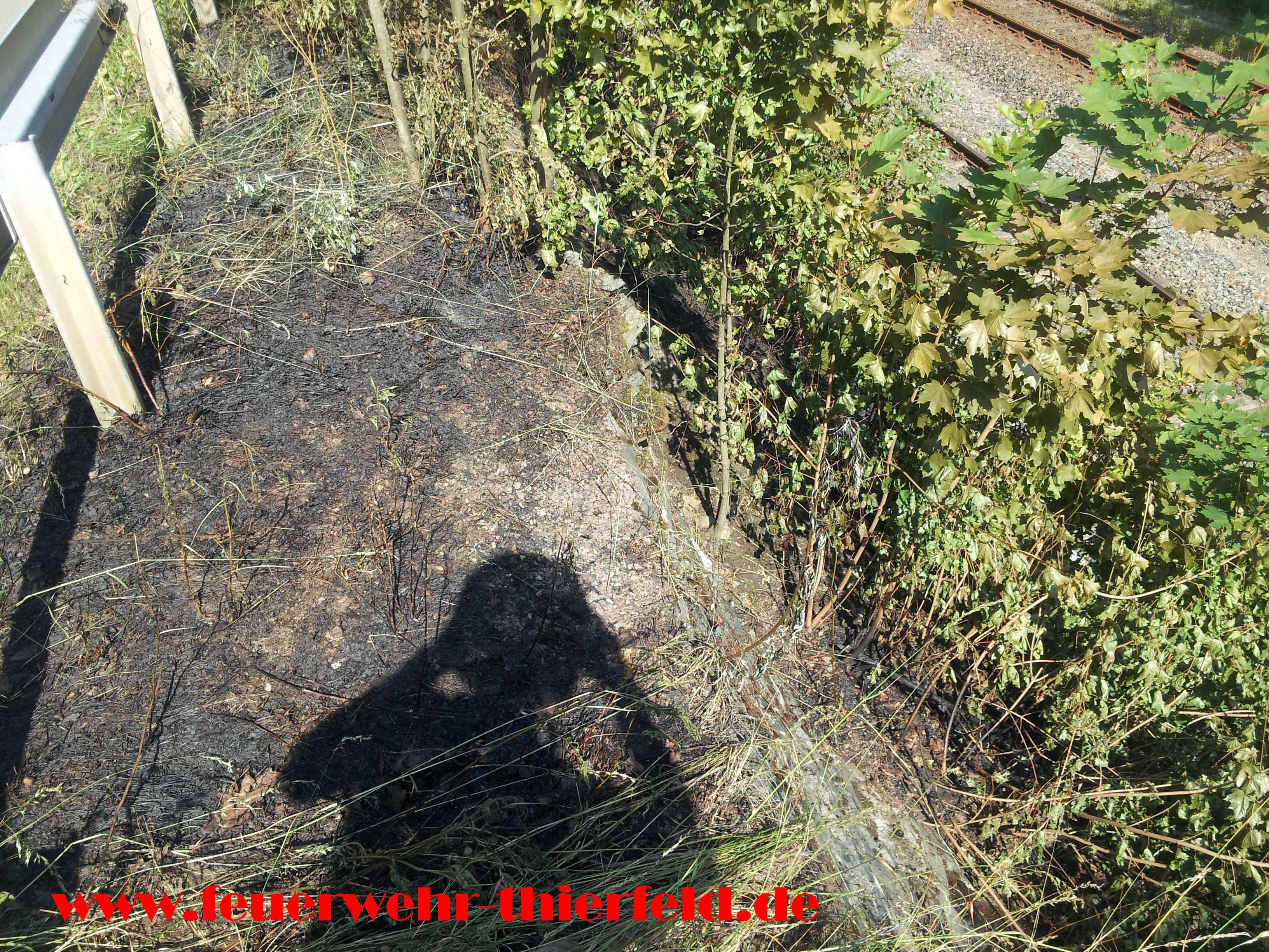 Einsatz 13: Brand Bahndamm