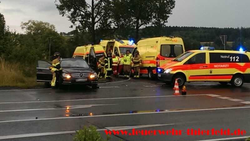 Einsatz 15: Verkehrsunfall mit eingeklemmter Person