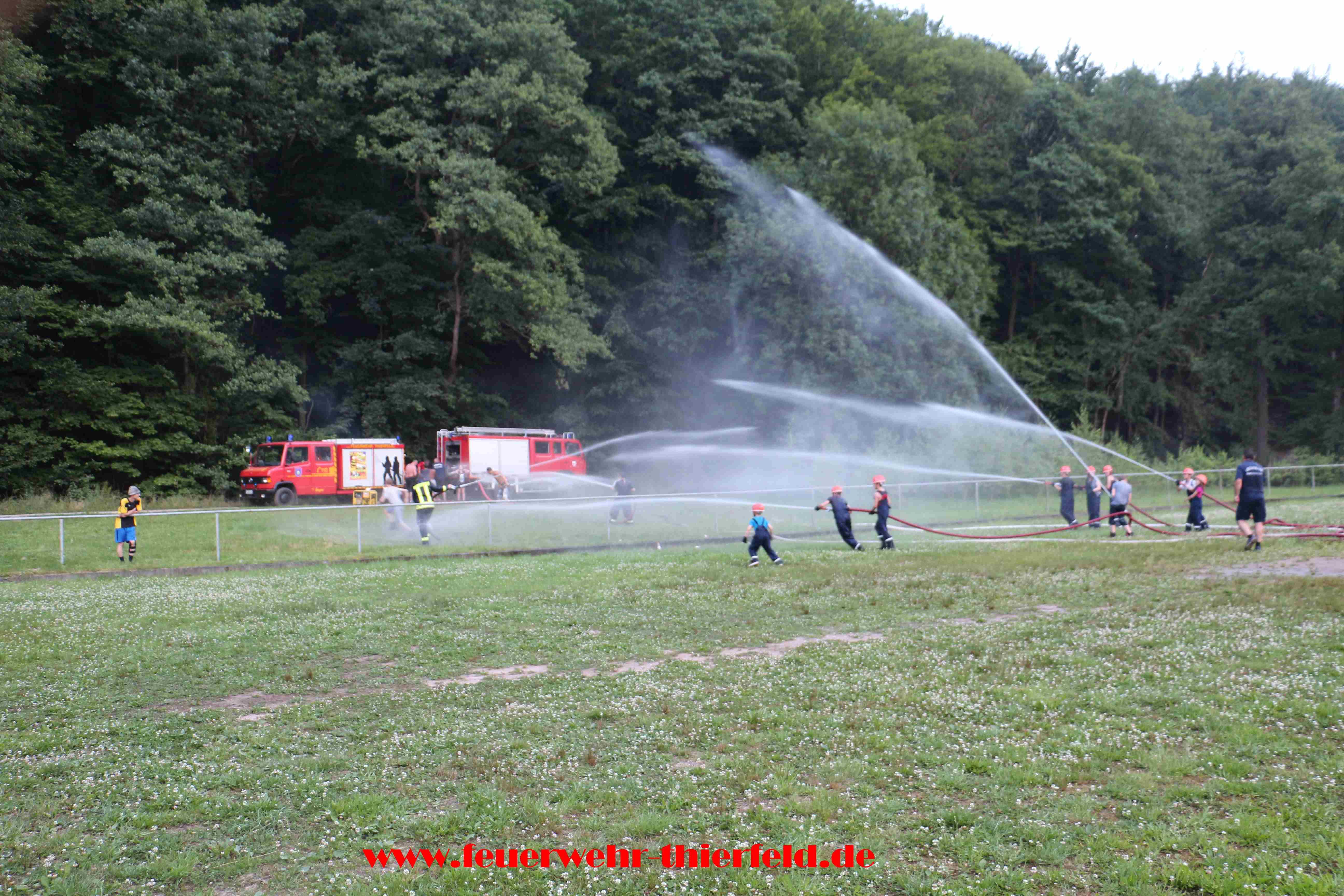 Actionreiches Wochenende der Jugendfeuerwehr Thierfeld