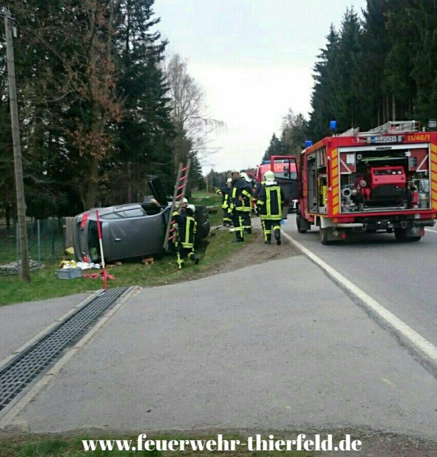 Einsatz 5: Verkehrsunfall mit auslaufenden Betriebsmitteln
