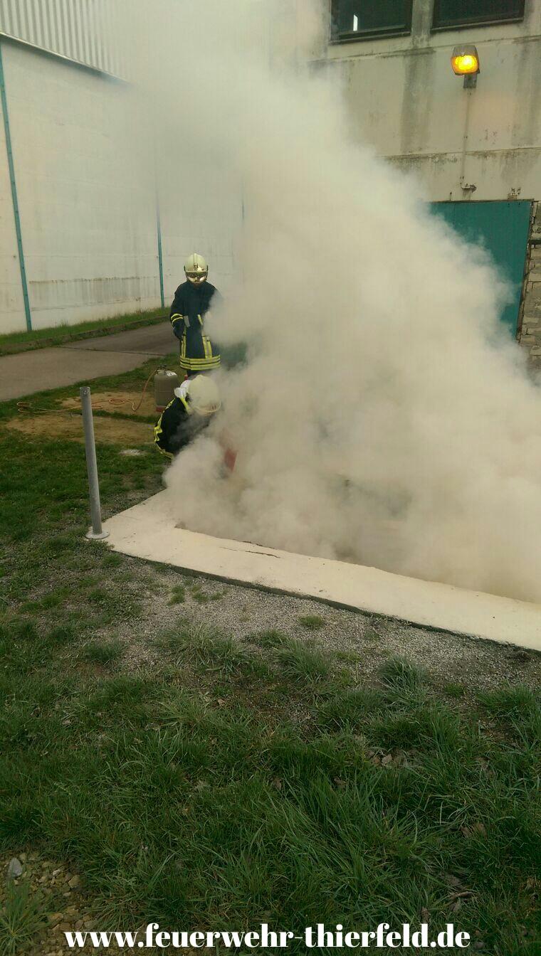 Feuerwehrdienst am 15.04.2016