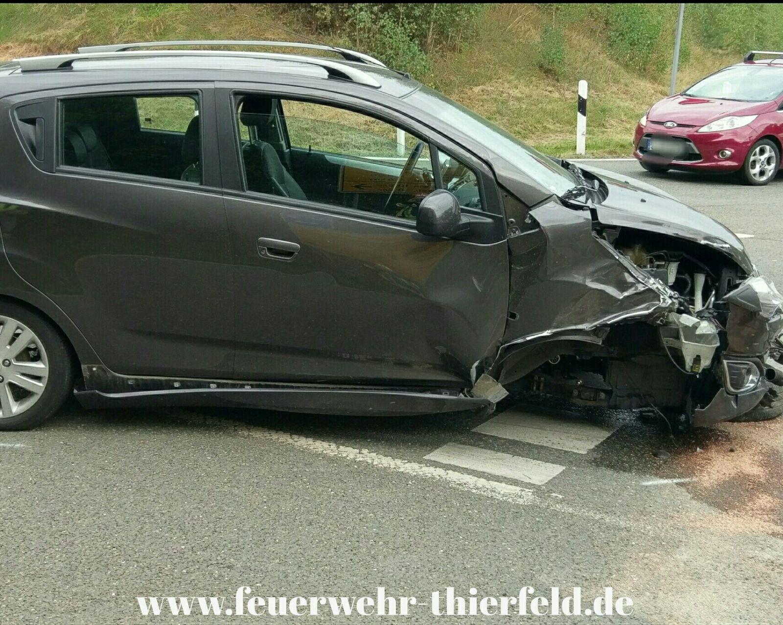 Einsatz 14: Verkehrsunfall mit auslaufenden Betriebsmitteln