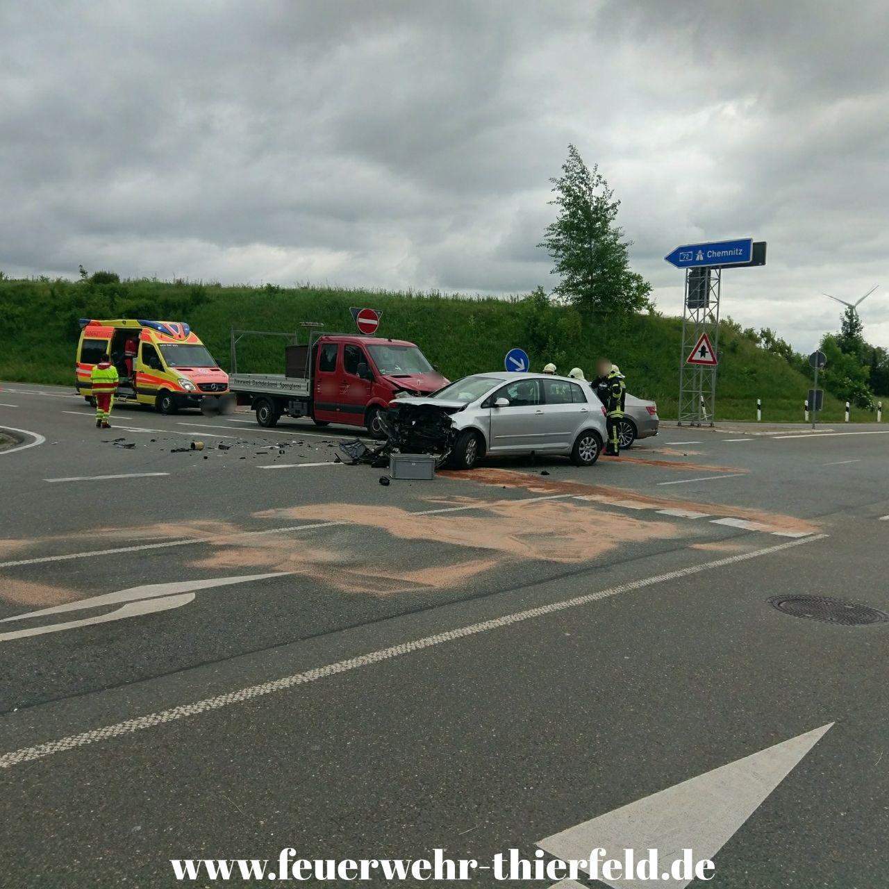 Einsatz 13: Verkehrsunfall