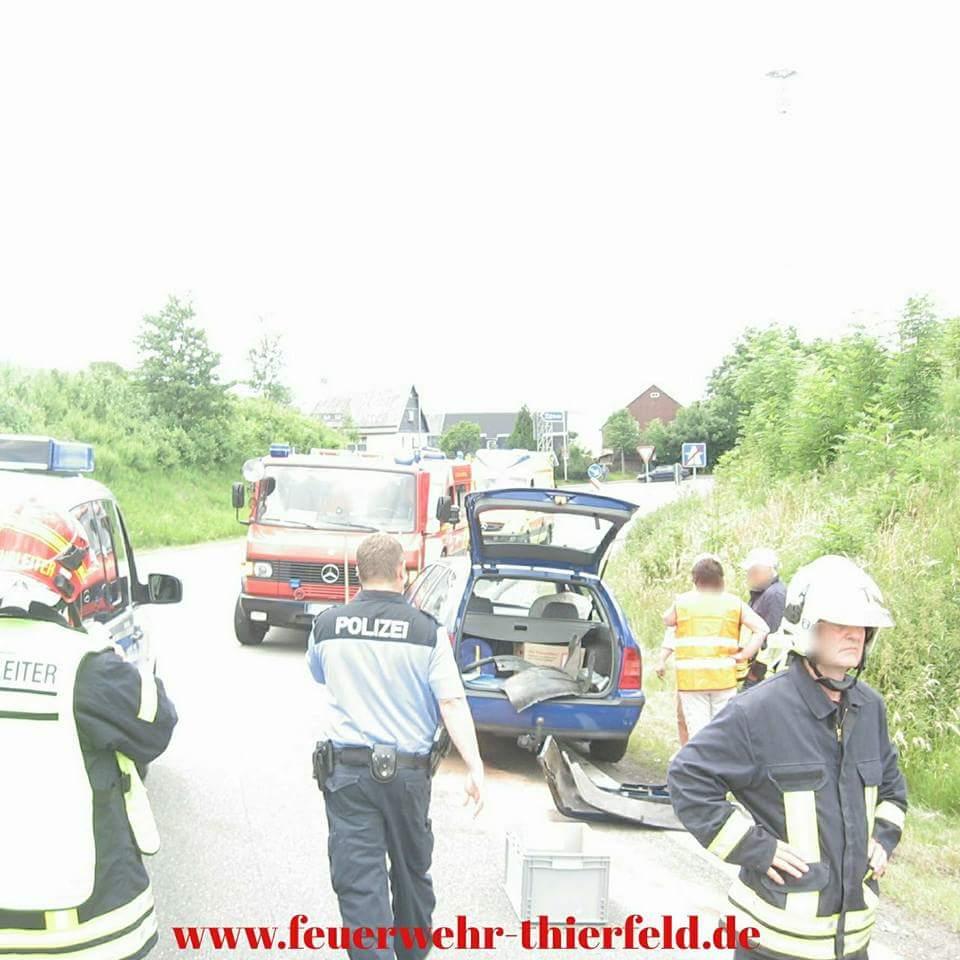 Einsatz 14: Verkehrsunfall