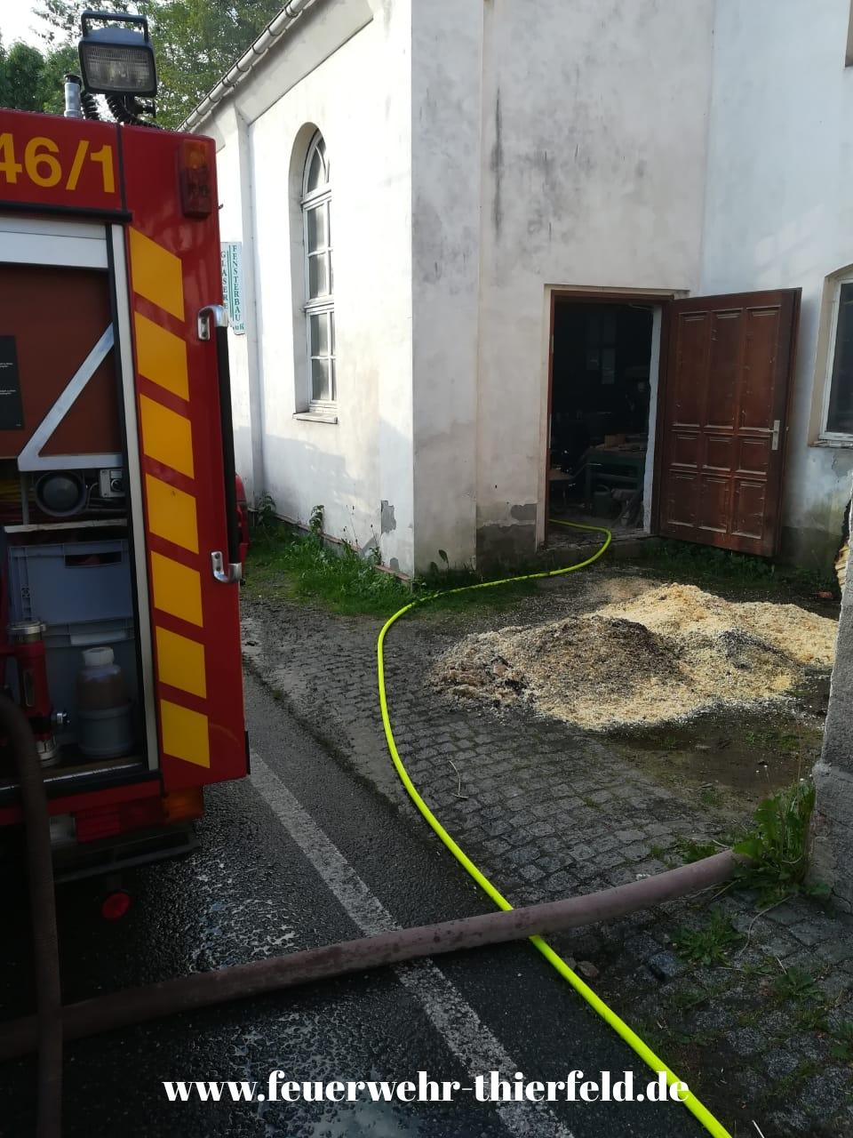 Einsatz 10: Brand Spänehaufen