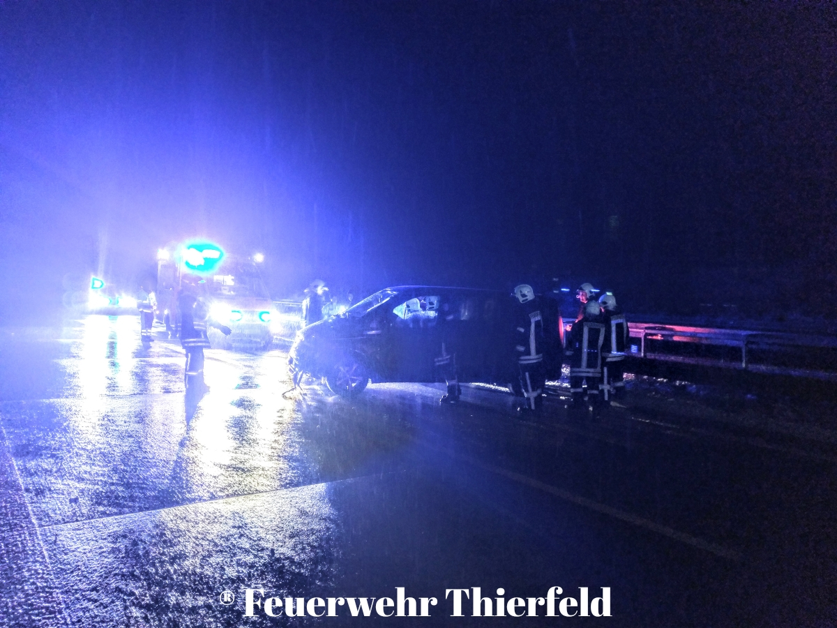 Einsatz 11: TMR1 Verkehrsunfall A72 Richtung Zwickau