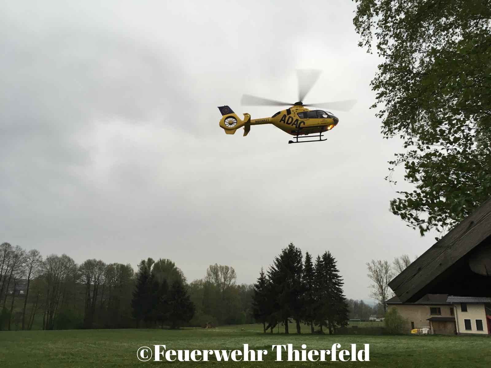Einsatz 14: TMR1 -Unterstützung Rettungsdienst durch Tragehilfe