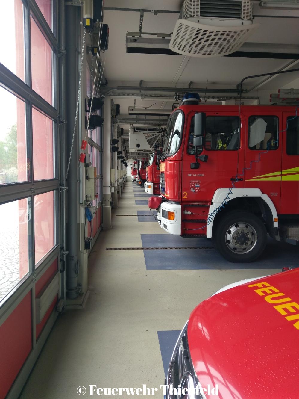Besuch der Berufsfeuerwehr Zwickau