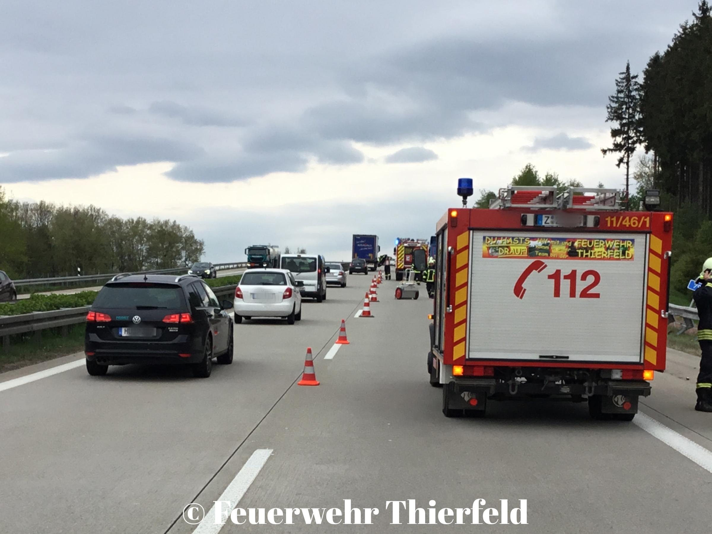 Einsatz 15: TMR1 – Verkehrsunfall