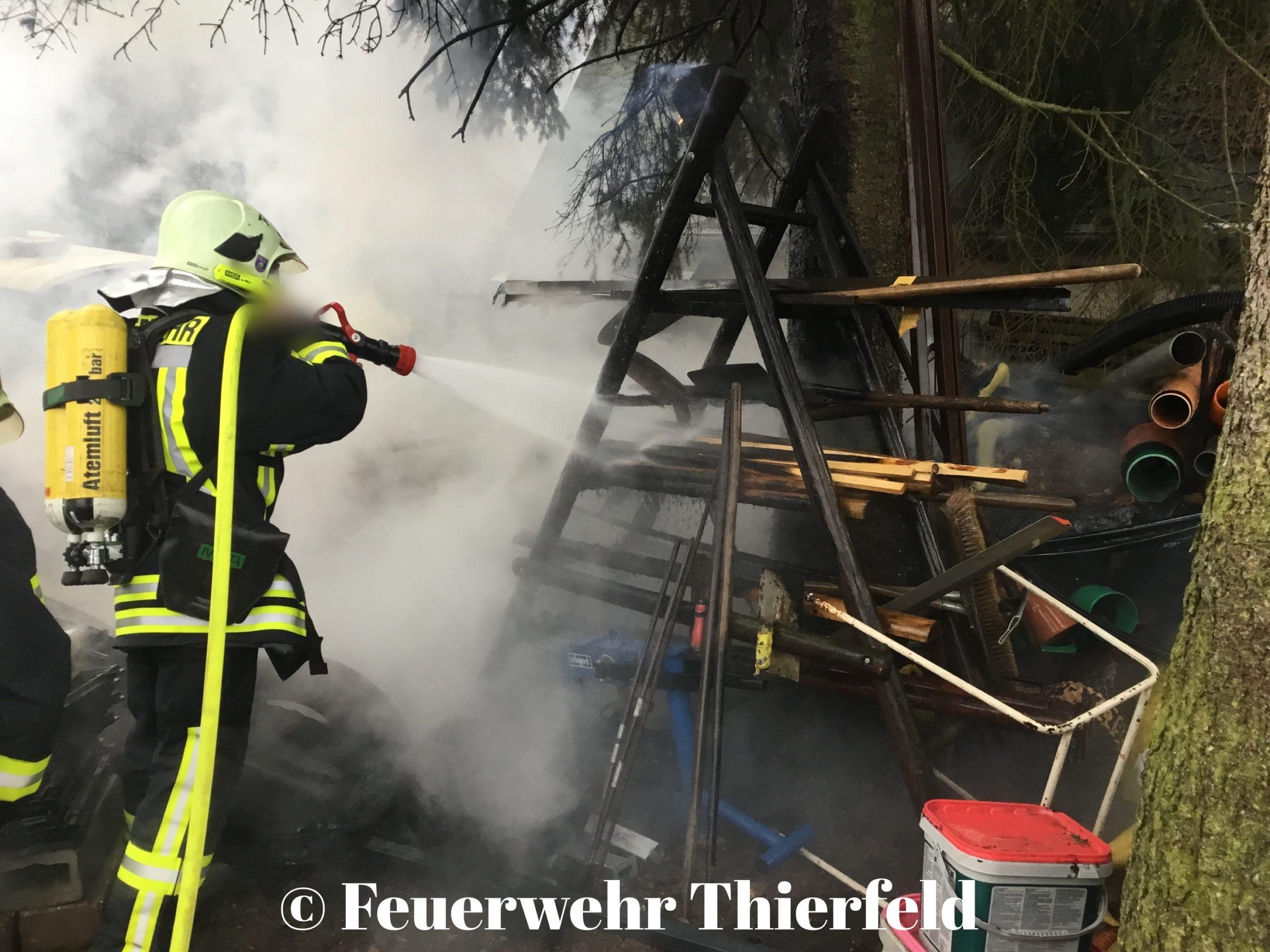 Einsatz 1: BR1 – Brand Freiland, Baum und Hecke