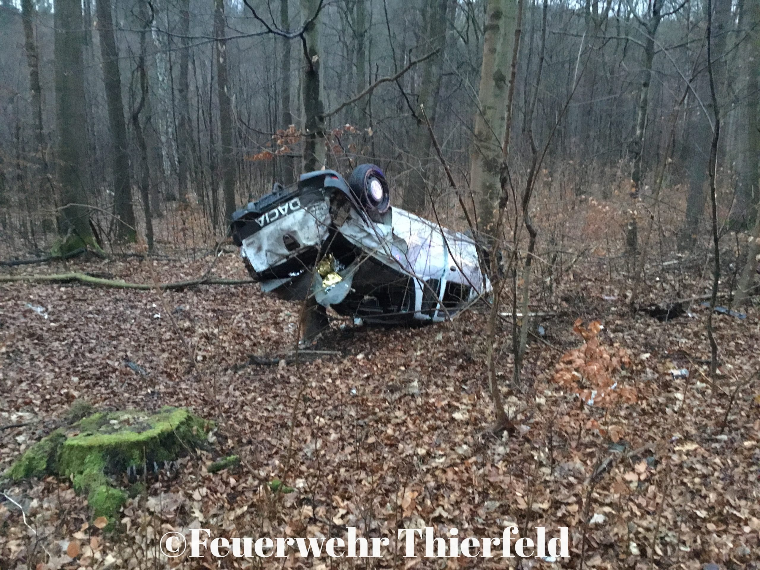 Einsatz 2: THL1 – auslaufende Betriebsmittel nach Verkehrsunfall