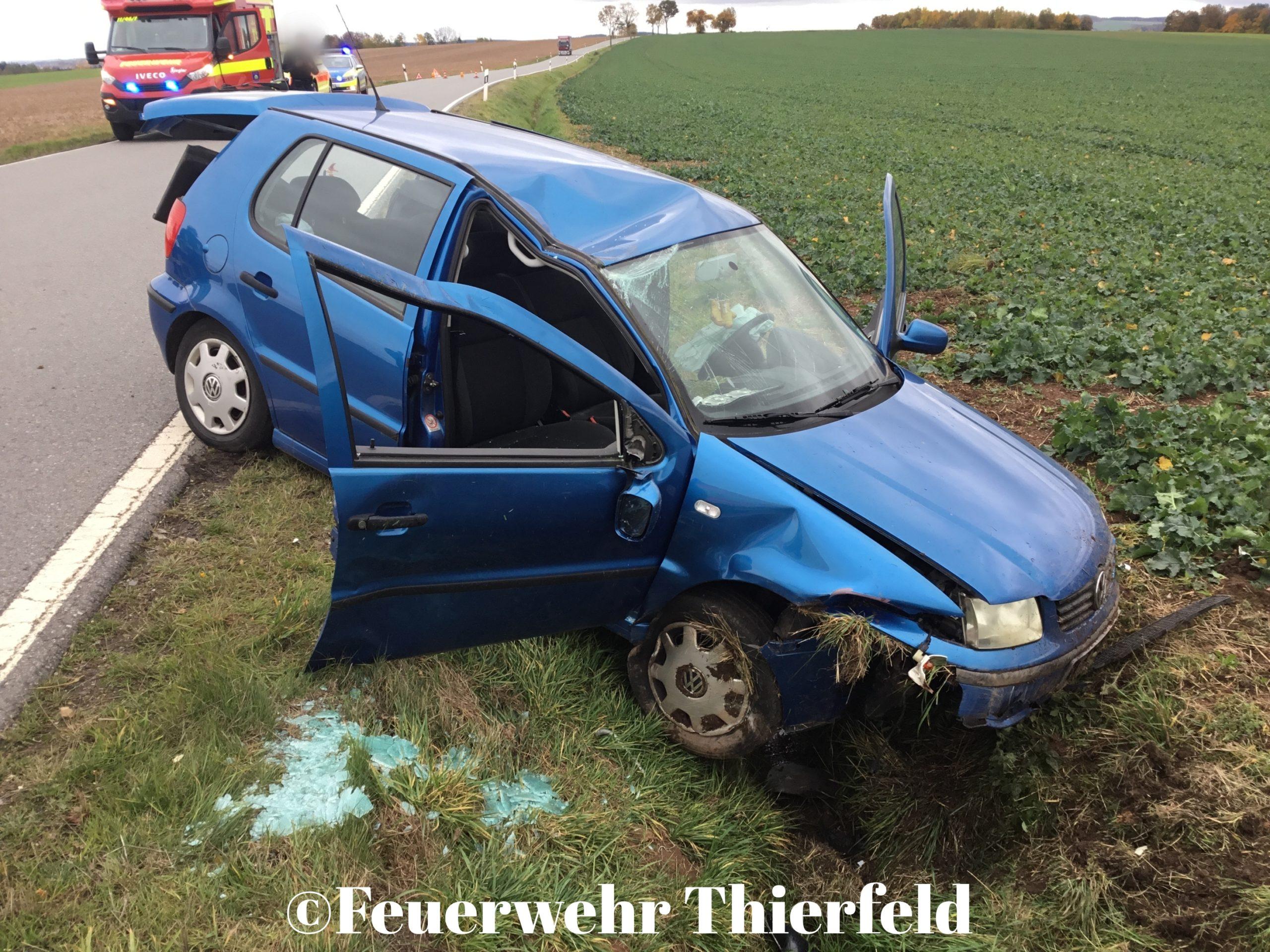 Einsatz 20: TMR2 – eingeklemmte Person nach Verkehrsunfall auf S255
